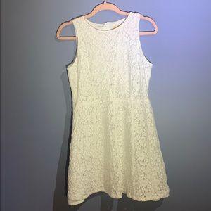 Michael Kors Floral Eyelet Dress